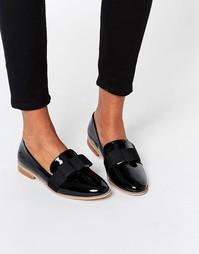 Туфли на плоской подошве ASOS MISSY - Черный