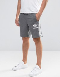 adidas Originals Trefoil Shorts AY7732 - Серый