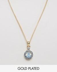 Позолоченное ожерелье с драгоценным камнем Nylon