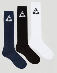 Набор из 3 пар носков с логотипом Le Coq Sportif - Мульти