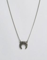 Ожерелье Pieces Prina - Серебряный