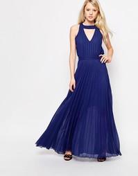 Платье макси с вырезом сзади Jovonna Sonoma - Темно-синий