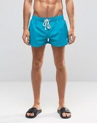 Короткие шорты Ringspun - Зеленый
