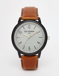 Часы со светло-коричневым ремешком Ben Sherman - Рыжий
