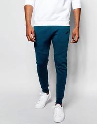 Зауженные синие джоггеры Nike TF 805162‑346 - Синий