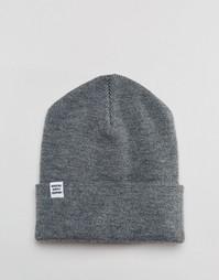Серая шапка-бини Herschel Supply Co Frankfurt - Серый