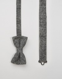 Шерстяной галстук-бабочка Noose & Monkey - Серый