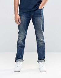Эластичные выбеленные джинсы классического кроя Only & Sons