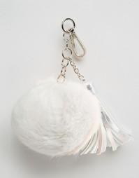 Подвеска-помпон с кисточкой на сумку Skinnydip