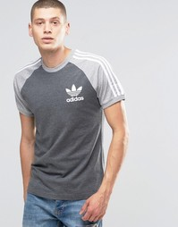 Футболка adidas Originals California AZ8126 - Серый