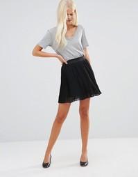 Плиссированная юбка JDY - Черный