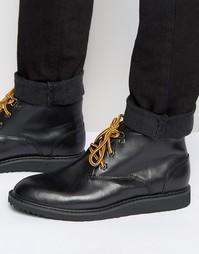 Черные кожаные дезерты Bellfield - Черный