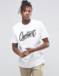 Футболка с карманом на груди Carhartt WIP - Белый