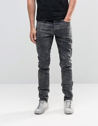 Only & Sons Jeans in Slim Fit Dark Grey Denim - Темно-серый