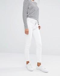 Прямые джинсы Boohoo - Белый