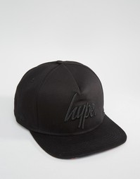 Бейсболка Hype - Черный
