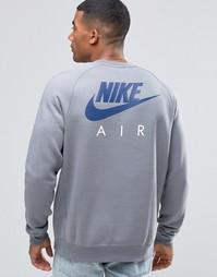 Серый свитшот Nike 809058-065 - Серый