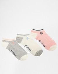 Комплект из 3 пар спортивных носков с косами Penguin