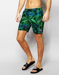 Шорты для плавания с принтом Speedo 18 - Зеленый