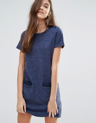 Jack Wills Marl Shift Dress - Темно-синий