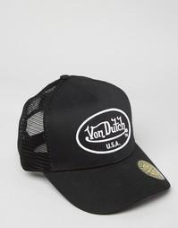 Бейсболка Von Dutch - Черный