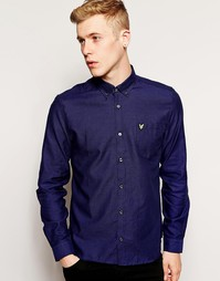 Рубашка с логотипом-орлом Lyle & Scott Vintage - Duke blue