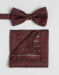 Галстук и платок для пиджака Selected Homme - Красный