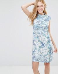 Мягкое платье с геометрическим принтом Y.A.S - Aop