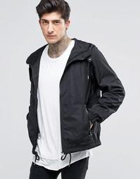 Нейлоновая куртка с капюшоном Diesel J-Azzerad - Черный
