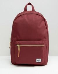 Бордовый рюкзак на 23 литра Herschel Supply Co Settlement - Красный