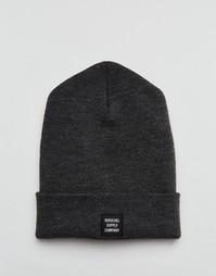 Серая шапка-бини Herschel Supply Co Abbott - Серый