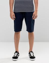 Джинсовые шорты цвета индиго Bellfield - Синий