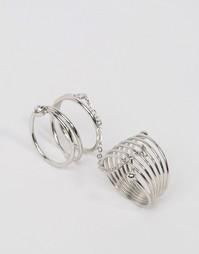 Двойное кольцо ограниченной серии - Родий Asos