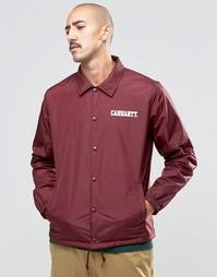 Университетская спортивная куртка Carhartt WIP - Burgundy