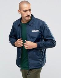 Университетская спортивная куртка Carhartt WIP - Темно-синий