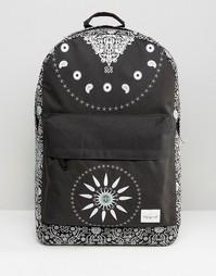 Черный рюкзак Spiral Bandana - Черный