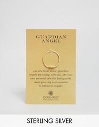Позолоченное кольцо Dogeared Guardian Angel - Золотой