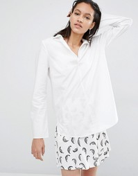 Блузка с расклешенными манжетами Just Female Jerrel - Белый