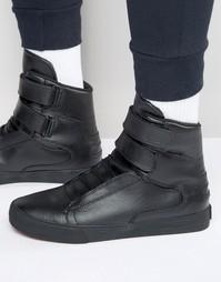 Классические высокие кроссовки Supra Society - Черный
