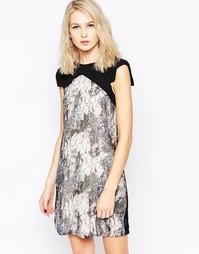 Цельнокройное платье с принтом Little Mistress - Принт