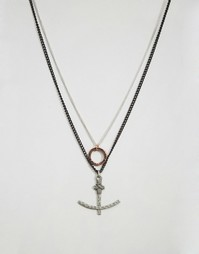 Ожерелье с подвесками Icon Brand - Золотой