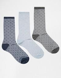 3 пары носков в фактурный горошек Lovestruck
