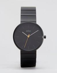 Черные часы с минималистским дизайном Braun Classic - Черный