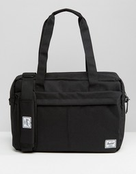 Черная сумка для ноутбука на 15 литров Herschel Supply Co Gibson