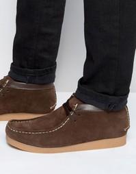 Ботинки чукка Bellfield Wallabee - Коричневый
