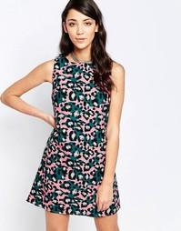 Цельнокройное платье без рукавов с принтом пейсли Glamorous