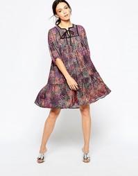 Платье с принтом Ivana Helsinki Asta - Разноцветный