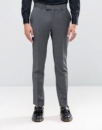 Супероблегающие брюки Ben Sherman Camden - Серый