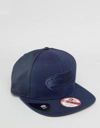 Бейсболка New Era 9Fifty Seattle Seahawks - Темно-синий