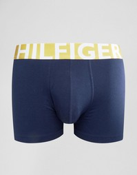 Боксеры-брифы расцветки колор блок Tommy Hilfiger - Темно-синий